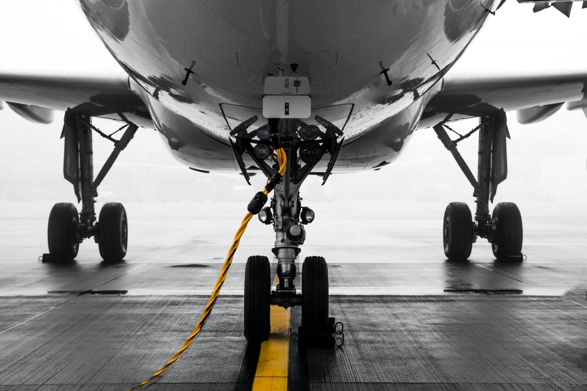 aircraft parking procedure