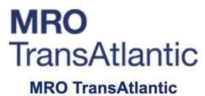 Logo MRO Europe 2020 MRO Transatlantic