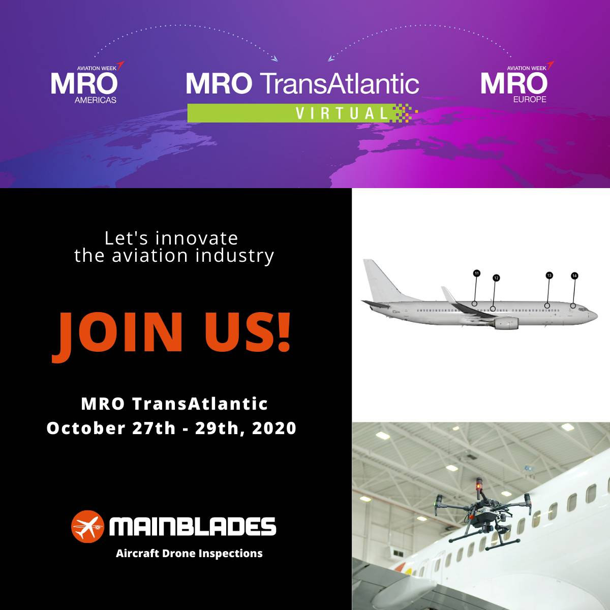 Invitation to MRO Transatlantic event