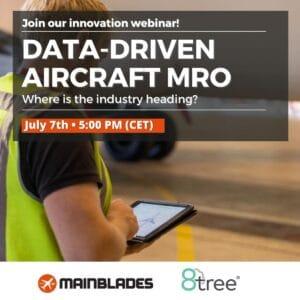 data driven maintenance of aircraft