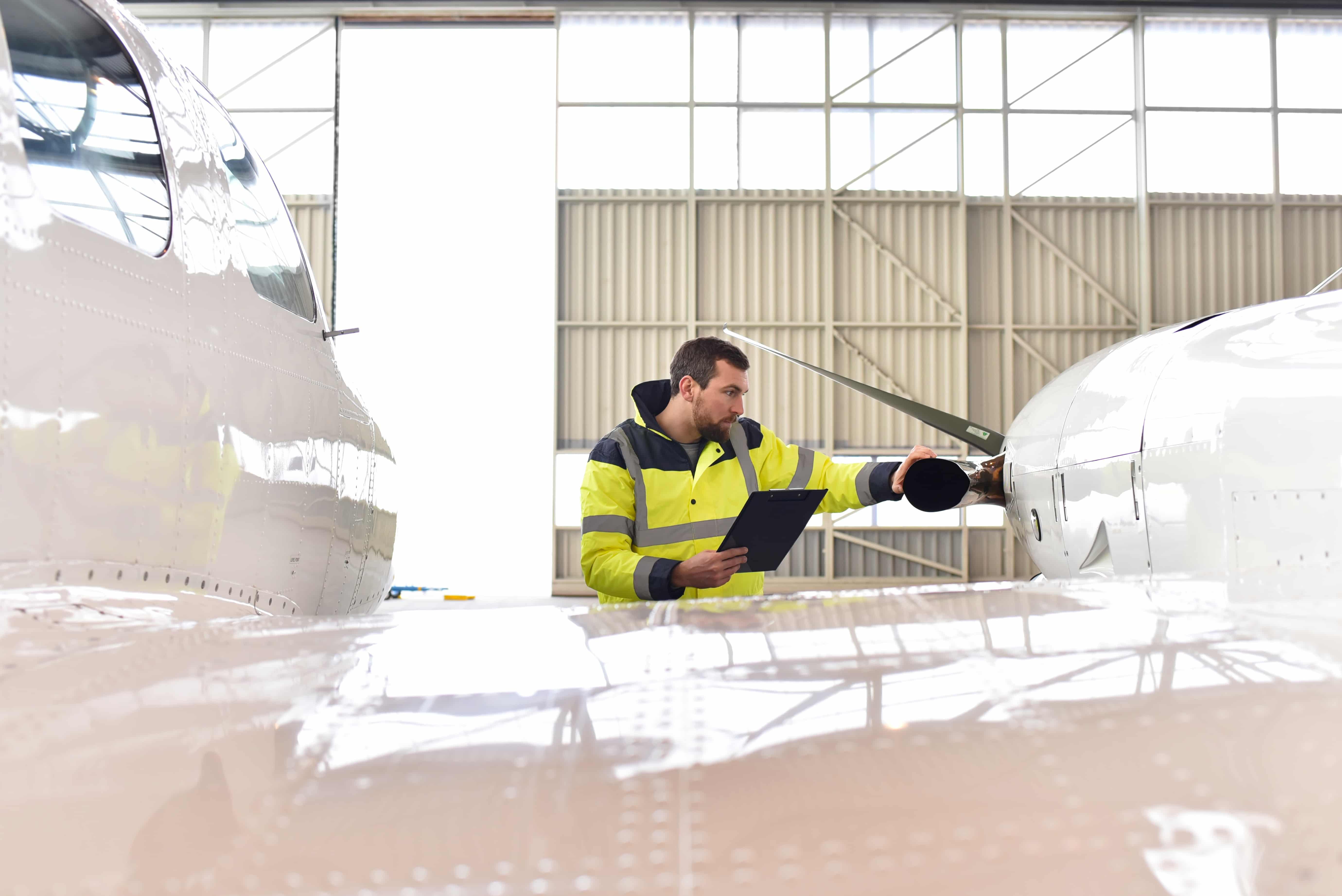 aircraft visual inspection